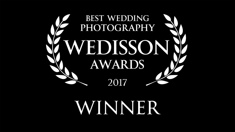Winner International Wedisson Wedding Award 2017 | Award winning bruidsfotografie op landgoed Rhederoord